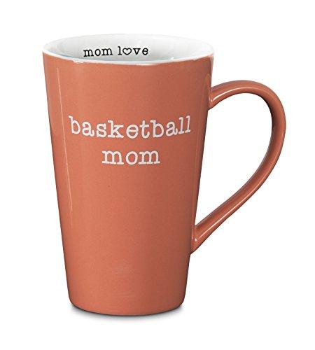 Pavilion Gift Company 14114 Basketball Mom Latte Mug, 18-Ounce, Mom Love