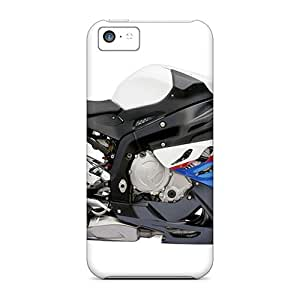 New Style Tpu 5c Protective Case Cover/ Iphone Case - New Bmw S 1000 Rr White