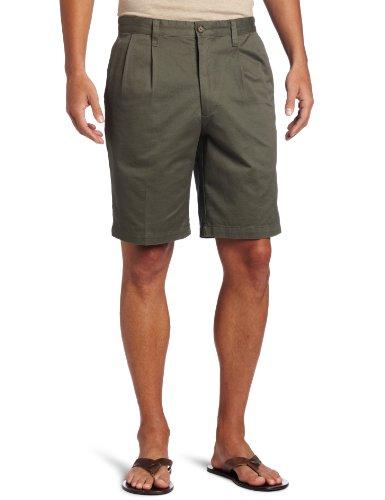 Dockers Men's Soft Khaki Short D3 Classic Fit Flat Front