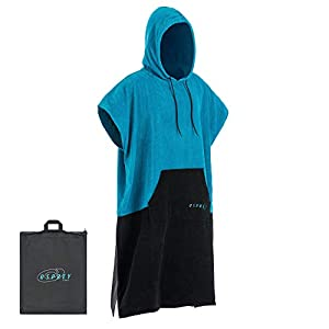 Osprey Adult Surf Poncho Hooded Towel Beach Changing Robe for Men and Women Surfing Swimming with Waterproof Seat…