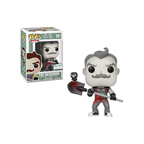 Figura Pop Hello Neighbor Black & White Blood Exclus