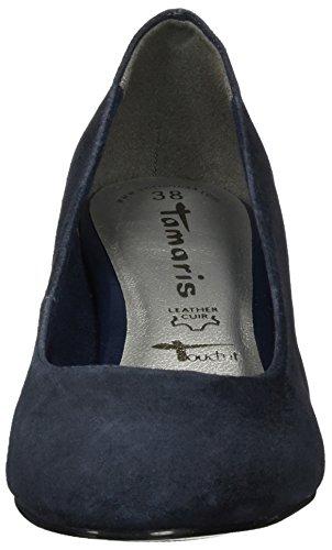 Tamaris 22306 Damen Pompen Blau (navy Suede)