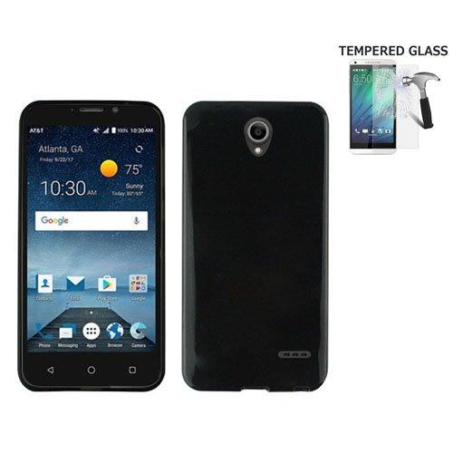 [해외]AT & T PREPAID ZTE Maven 3, ZTE Prelude Plus 보호 케이스, ZTE 프레스티지 2 케이스, ZTE ZFive 2 케이스, 젤 플렉스 커버 케이스 + 강화 G 용 휴대 전화 케이스/Phone Case For AT&T PREPAID ZTE Maven 3, ZTE Prelude Plus Protective ...