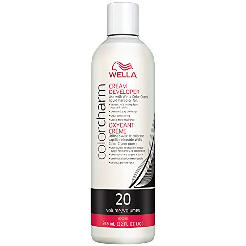 Wella Color Charm Creme Developer 20 Volume, 32 Ounce