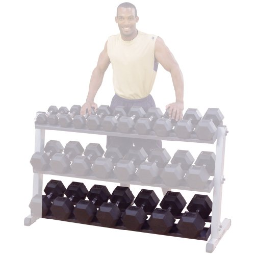 Body-Solid GDRT60 Optional 3rd Tier for GDR60 Dumbbell Rack by Body-Solid