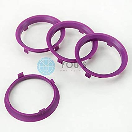 Kit 4 Anelli Di Centraggio Da 73,1 mm A 70,1 mm Per Cerchi In Lega Ruote
