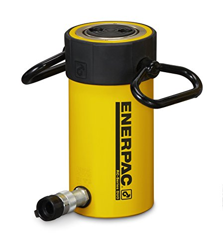 Enerpac RC-502 Single-Acting Alloy Steel Hydraulic Cylinder with 50 Ton Capacity, Single Port, 2'' Stroke by Enerpac