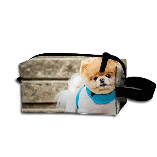 Makeup Cosmetic Bag Cutest Dog Zip Travel Portable Storage Pouch For Men Women