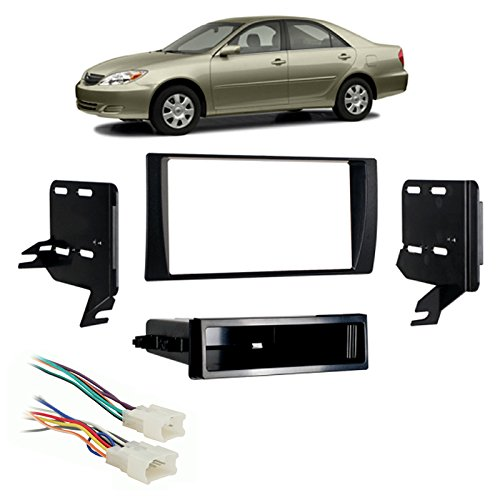 02-2006 Multi DIN Stereo Harness Radio Install Dash Kit ()