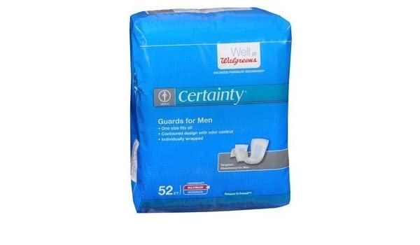 Amazon com: Walgreens Certainty Bladder Protection Guards