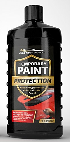 Protect 'n Peel temporary, clear paint protection that peels off (16 - Finishing Protect