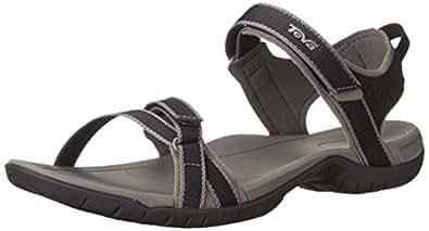 Teva Women's Verra Sandal (5 B(M) US / 36 EUR, Black)