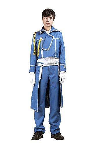 Mtxc Men's Fullmetal Alchemist Cosplay Army Uniform Kid Size Large (Fullmetal Alchemist Riza Hawkeye Costume)