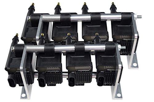 LS Remote Mount Holley Smart EFI Coil Relocation Brackets 556-112 LSX LS LQ4 LQ9 Swap Billet 551588