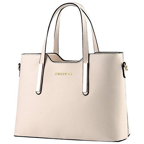 Shoulder Handbags Zipper Shoulder ADOO Bag ADOO Beige Women Bags Handbags Women Messenger p6Ydq6Hn