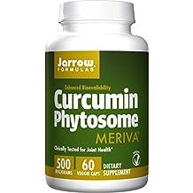 Jarrow Formulas Curcumin Phytosome , Promotes Joint Nutrition, 500 mg, 60 Capsules