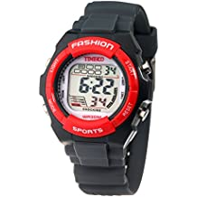 Time100 Kids Digital Watch Timing Multifunctional Black Strap Sport Watch for Boys and Girls