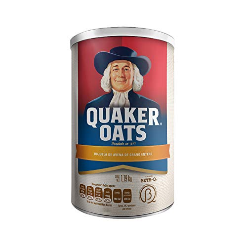Quaker Avena Old Fashion, Sabor Natural, 1190 g
