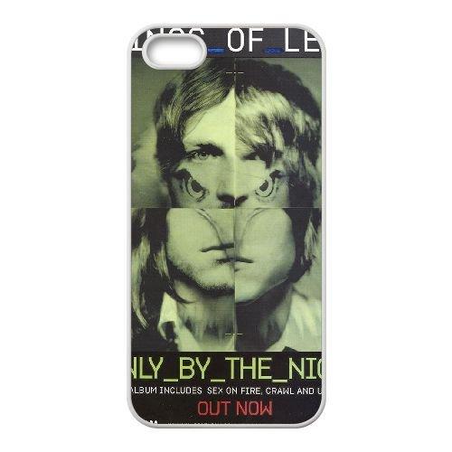 Kings Of Leon coque iPhone 5 5s cellulaire cas de téléphone couvercle de coque blanche, coque iPhone 5 5s cas Coque blanche