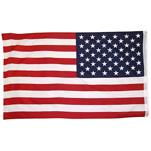 Kaputar 3x5 American Flag w/Grommets ~ United States of America ~ USA ~ US ~ Stars | Model FLG - 7385