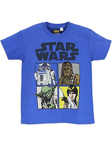 Star Wars Boys' Star Wars Short Sleeved T-shirt Size 14