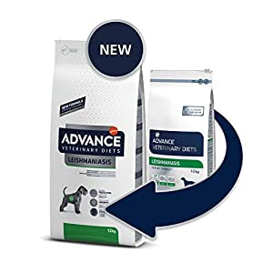 Advance Veterinary Diets AVET Dog LEISHMANIASIS Management 12KG, Negro, Estandar, 12000