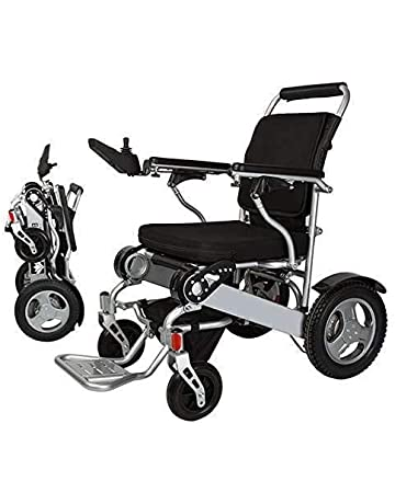 e6aabed0b17fa1 Electric Wheelchair Folding Lightweight Supports 360 lbs Aircraft Grade  Aluminum Alloy Frame More Strength Upgraded More