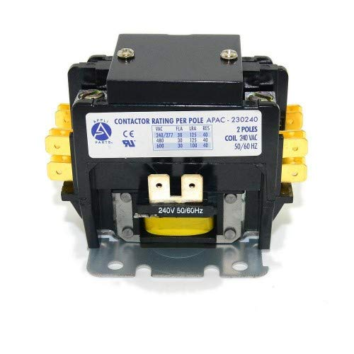 CONTACTOR 2 POLES 30A 240V (2 Pole 30 Amp 240 ()