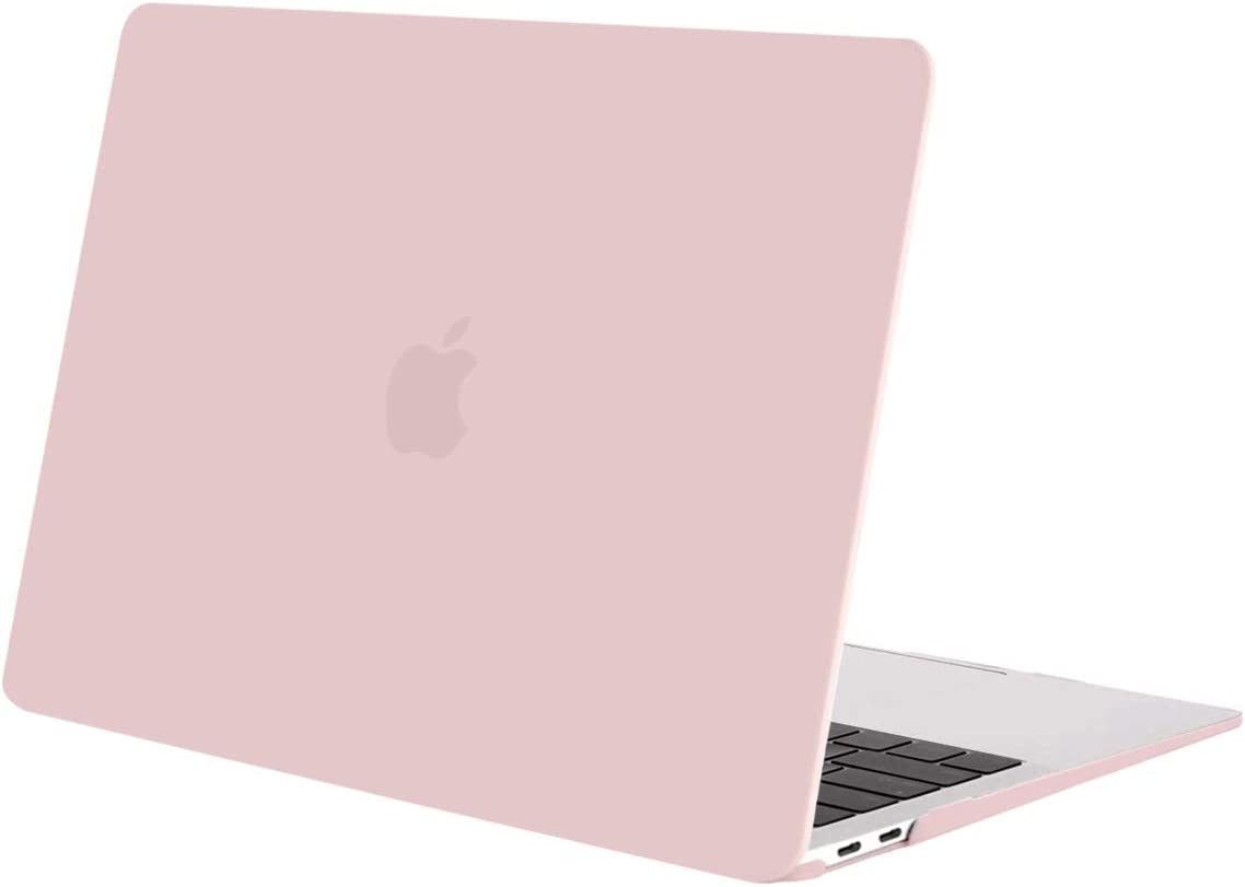MOSISO Coque Compatible avec MacBook Air 13 2019 2018 A1932 Plastique Coque Rigide Uniquement Compatible avec MacBook Air 13 Pouces avec Retina Display//Touch ID Rouge Vif