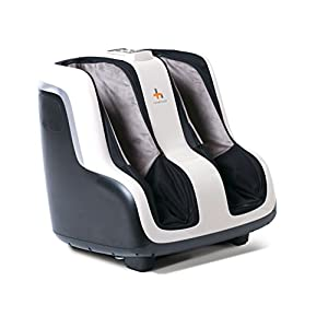 Human Touch Reflexology Foot and Calf Massager with Heat and Vibration