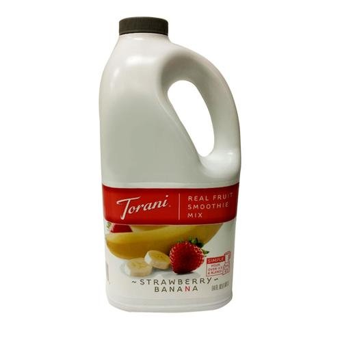 Torani Strawberry Banana Real Fruit Smoothie Mix, 64 oz ()