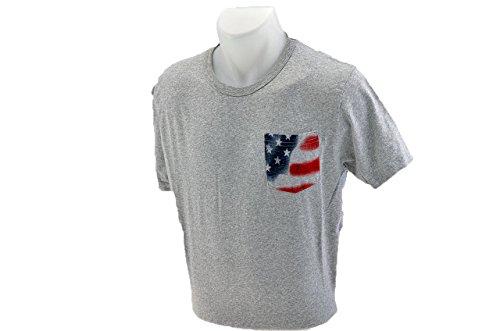 Converse Pocket-usa-flagge T-shirt Neu Gr S Herre.