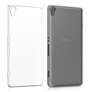 kwmobile Crystal hard case for Sony Xperia XA - thin transparent protection cover in transparent