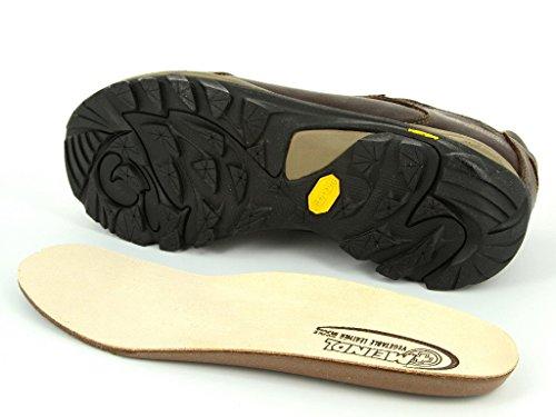 Meindl Linosa Identity––Zapatos de hombre–Color Marrón Oscuro Marrón - marrón