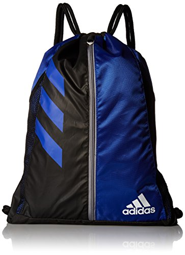 adidas Team Issue Sackpack, Bold Blue/Black, One Size