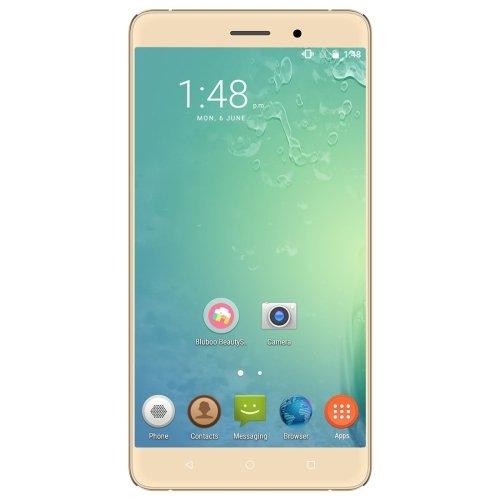 BLUBOO Maya 16GB ROM 5.5 Inch Android 6.0 Smartphone, MTK6580A Quad Core 1.3GHz, 2GB RAM GSM & WCDMA (Gold)