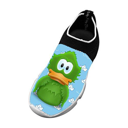 Adium 3D Printing Children's Slip-on Flyknit Outdoor Sport Shoes