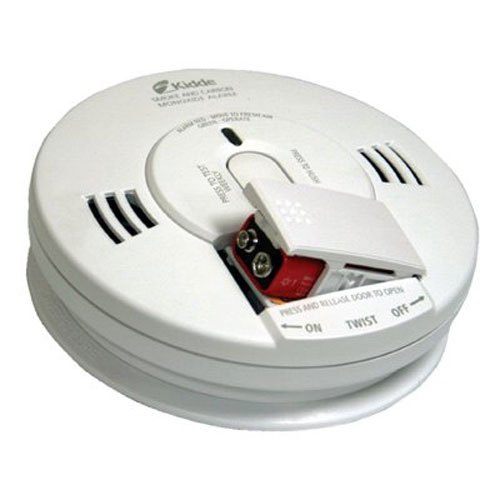Kidde KN COPE D Battery Operated Photo Electric Combo Smoke and Carbon Monoxide Talking Alarm (Fire Merch Safety)