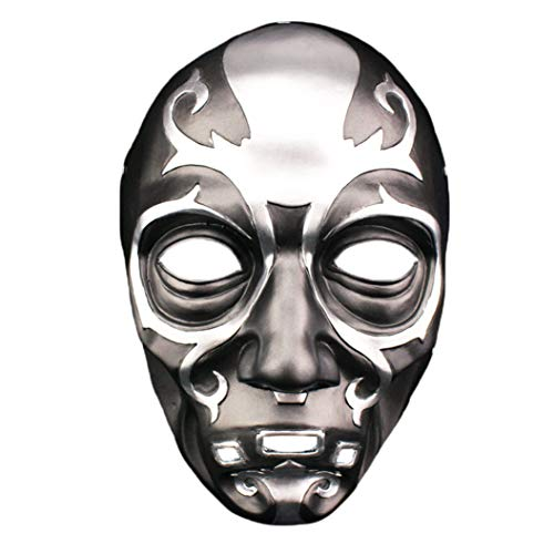 Siomentdi Harry Potter Death Eater Mask Resin Mask Character Celebrity Mask, Halloween Costume Party, Carnival, Christmas, Easter, Party Mask, Mask Collection