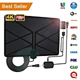 2019 Newest TV Antenna,Indoor Amplified Digital HDTV Antenna 120+ Mile Range with 4K