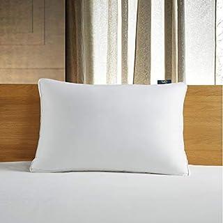 Serta 300 Thread Count White Down Fiber Bed Side Sleeper Pillow, Jumbo