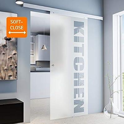 inova Cristal corredero 755 X 2035 X 8 mm con Texto Juego Completo ...