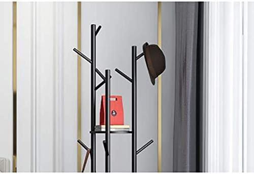 Perchero Ropa que cuelga del estante soporte autoportante Perchero árbol de navidad de soporte Estante de la capa con el estante for la chaqueta paraguas de vestir sombreros y bolsos bufanda suspensió: