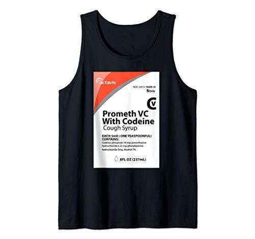 Codeine T-Shirt - Actavis Cough Syrup Purple Drank Shirt Tank Top