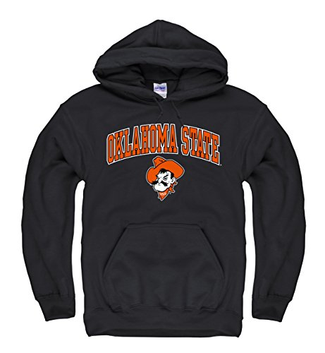 Campus Colors Oklahoma State Cowboys Adult Arch & Logo Gameday Hooded Sweatshirt - Black, ()