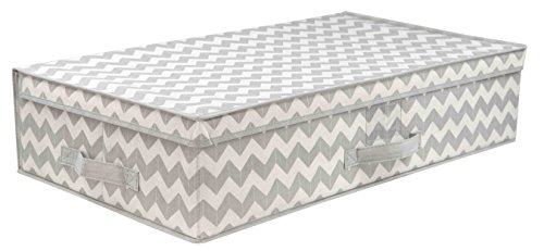 (Home Basics Chevron Collection Storage and Organization (Under The Bed))
