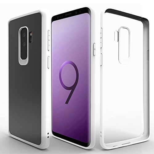 Samsung Galaxy S9 Plus Case,Zisure[EX 1] Ultra Thin Slim Clear Cases Transparent Cover Girly for Samsung Galaxy S9 Plus (6.2 inch/White)