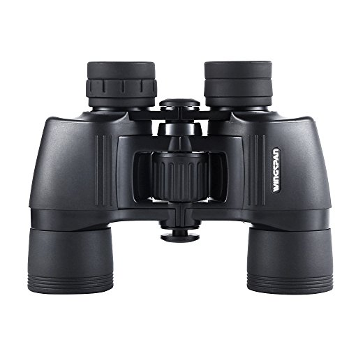 pView 8X40 Birding Binoculars. Bird Watching Binoculars with Extra Wide View with Sharp, Crisp, Clear Viewing from 1000 Yards. Wide Field of View. Long Eye Relief. (Crisp Sharp)