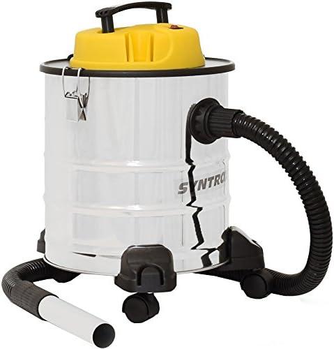 Syntrox Germany 2-en-1 aspirador de cenizas y húmedo - y en seco aspiradora de acero inoxidable 20 litros aspiradora de cenizas con motor Fein aspiradora de cenizas aspirador de la aspiradora industrial