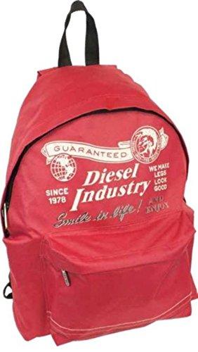 Mochila Padded Diesel Rojo - 100% original: Amazon.es: Deportes y aire libre